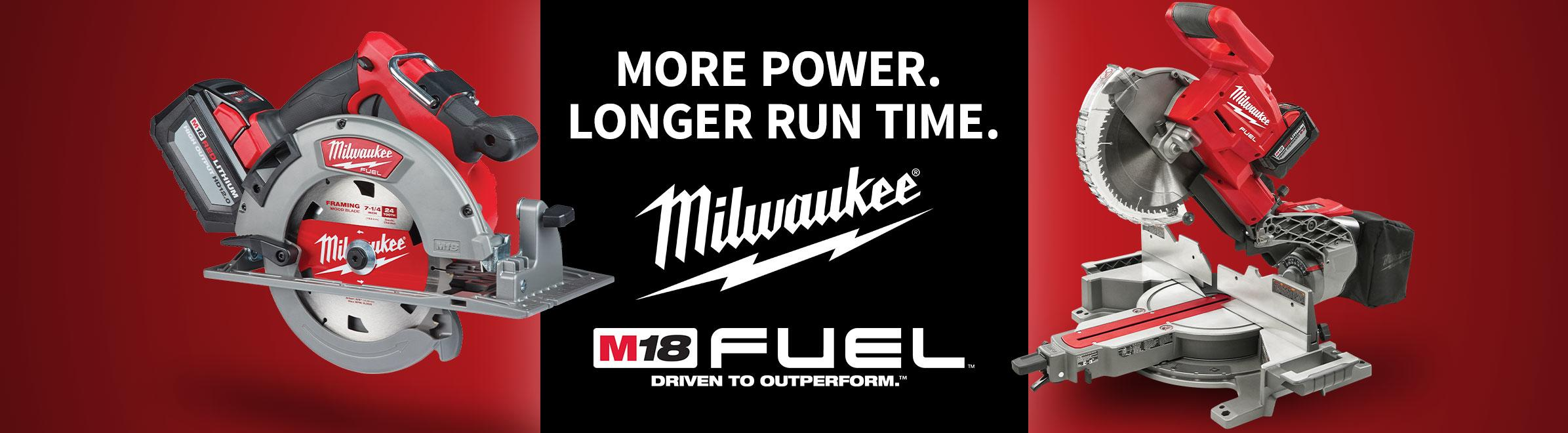 Milwaukee M18 Fuel