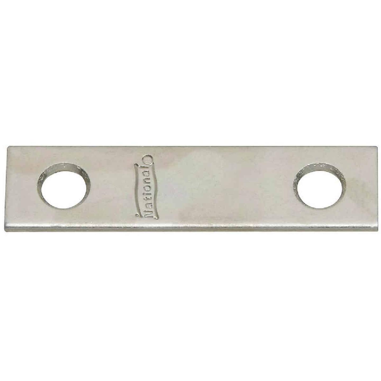 National Catalog 118 2 In. x 1/2 In. Zinc Steel Mending Brace (4-Count) Image 1