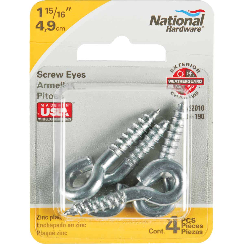 National #204 Zinc Small Screw Eye (4 Ct.) Image 2