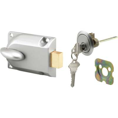 Prime-Line Aluminum Center Mount Deadbolt Lock