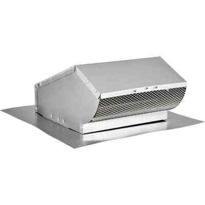 Lambro 10 In. Aluminum Roof Vent Cap with Damper
