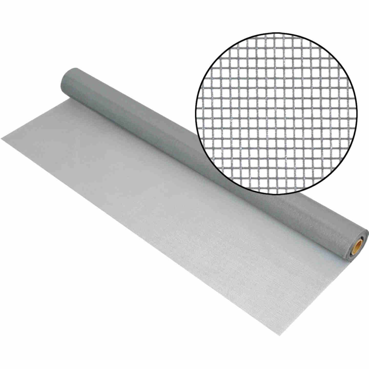 Phifer 30 In. x 100 Ft. Gray Fiberglass Mesh Screen Cloth Image 1