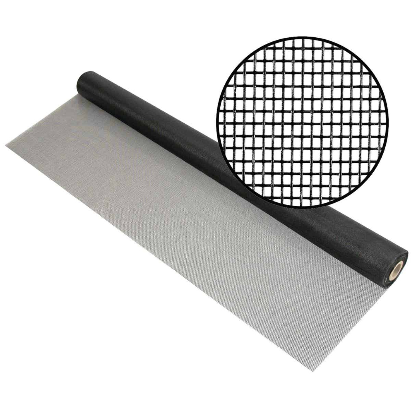 Phifer 48 In. x 100 Ft. Charcoal Fiberglass Pool Screen Image 1