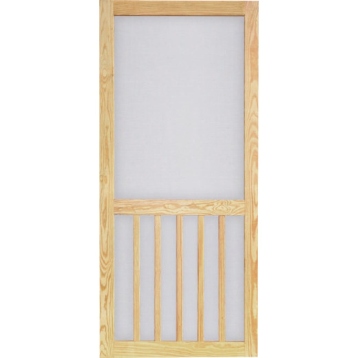 Screen Tight Timberline 36 In. W x 81 In. H x 1 In. Thick Pressure Treated Wood Screen Door