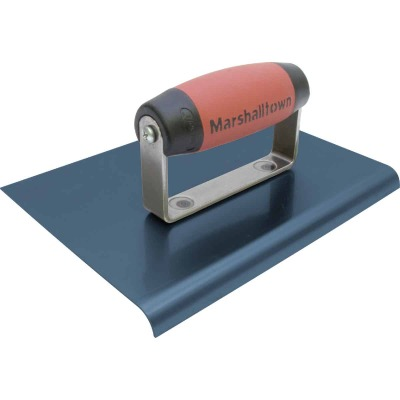 Marshalltown Blue Steel 9 In. x 6 In. Straight End Edger