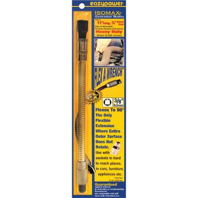 Eazypower FleX-A-Wrench 11 In. 3/8 In. Flexible Bit Extension