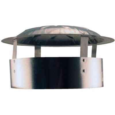 S & K Galvanized Steel 10 In. x 13 In. Vent Pipe Cap