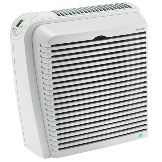 Holmes Harmony HEPA 256 Sq. Ft. White & Gray Floor Air Purifier