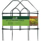 Best Garden 8 Ft. Green Galvanized Wire Folding Fence Image 2