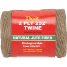 Do it 2-Ply x 252 Ft. Brown Jute Biodegradable Twine Image 1
