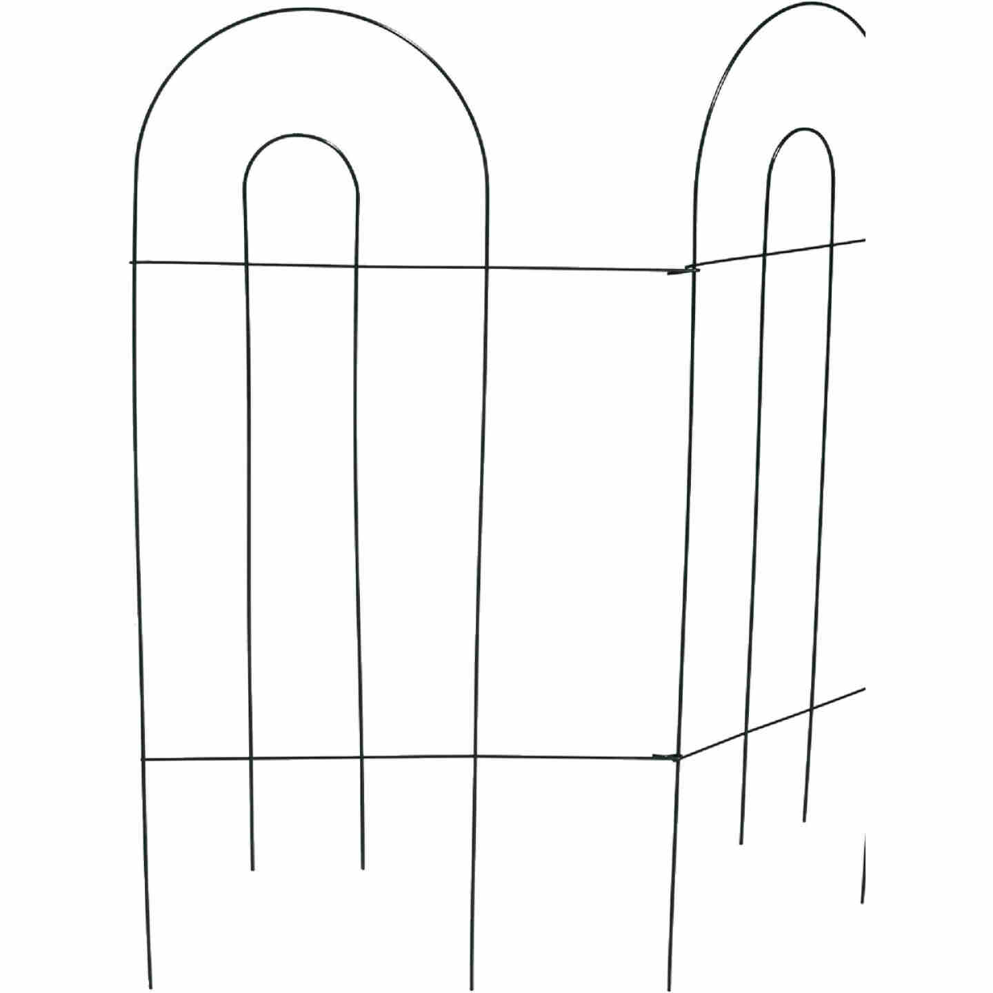 Best Garden 10 Ft. Powder-Coated Green Wire Folding Fence Image 3