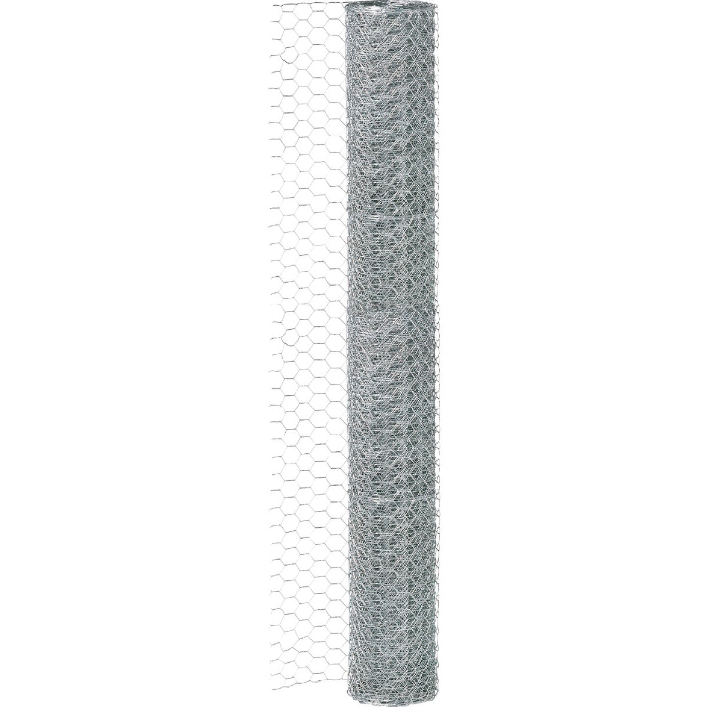 1 In. x 24 In. H. x 10 Ft. L. Hexagonal Wire Poultry Netting Image 3