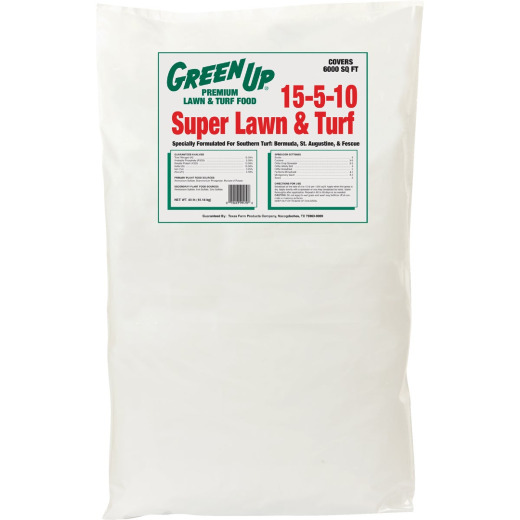 Green Up 40 Lb. 6000 Sq. Ft. 3-1-2 Lawn Fertilizer
