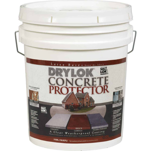 Drylok Clear Concrete Sealer Protector, 5 Gal.